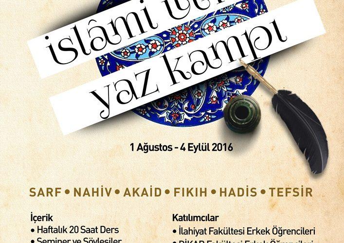 islami ilimler 1